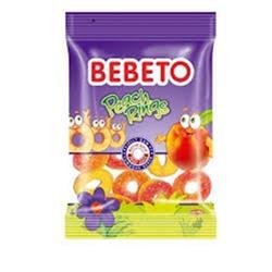 BEBETO PEACH RINGS 80 QR