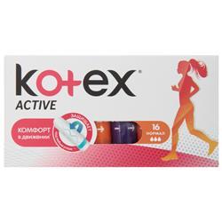 KOTEX ACTIVE NORMAL 16X24