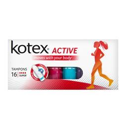 KOTEX ACTIVE SUPER 16X24