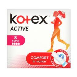 KOTEX ACTIVE SUPER 8X16