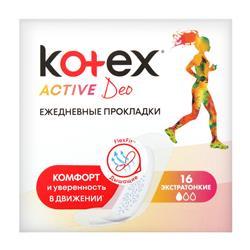 KOTEX LİNERS ACTİVE DEO 16X16