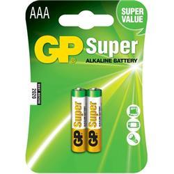 GP ALKALINE SUPER AAA 1,5V 24A