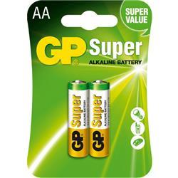 GP ALKALINE SUPER AA 1,5V 15A