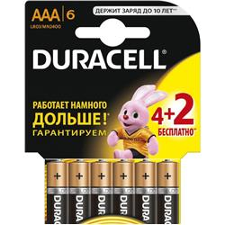 DURACELL BASİC AAA 4+2 (6...