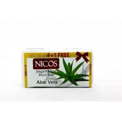 NICOS SABUN 5X70 QR ALOE VERA