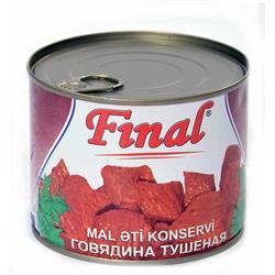 FİNAL MAL ƏTİ KONSERVİ 490 QR